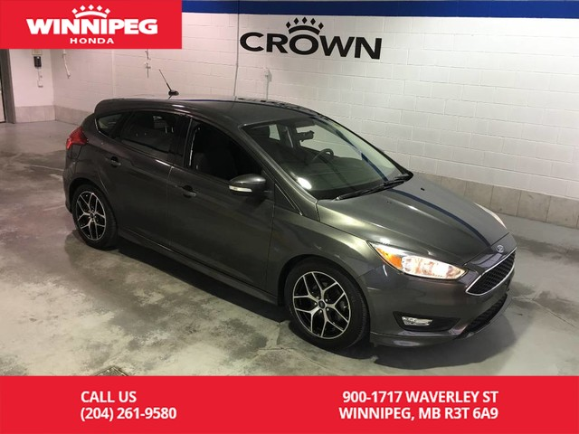 Pre-Owned 2017 Ford Focus SE/SYNC/Alloy wheels/Low KM/Bluetooth