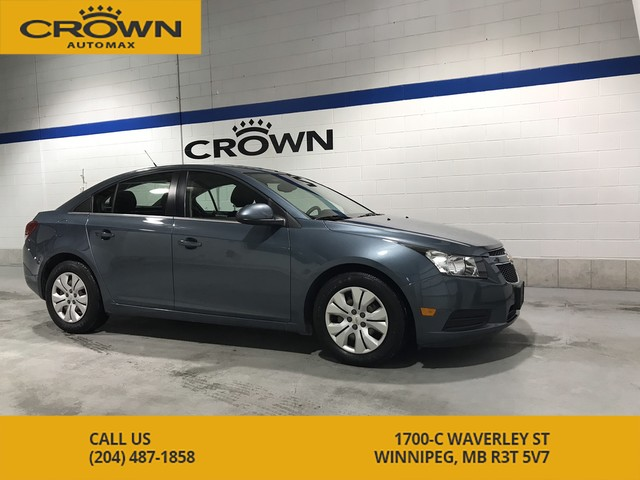 Pre-Owned 2012 Chevrolet Cruze LT Turbo **Low Kms** Nicely Equipped** Great on Gas**