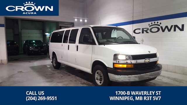Pre-Owned 2011 Chevrolet Express Passenger LT **15 Passenger** Low Kms **