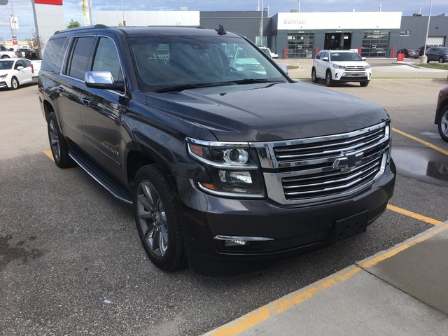 Pre-Owned 2015 Chevrolet Suburban LTZ 4WD / Accident Free / Manitoba Vehicle / Highway Kms / Great Condition