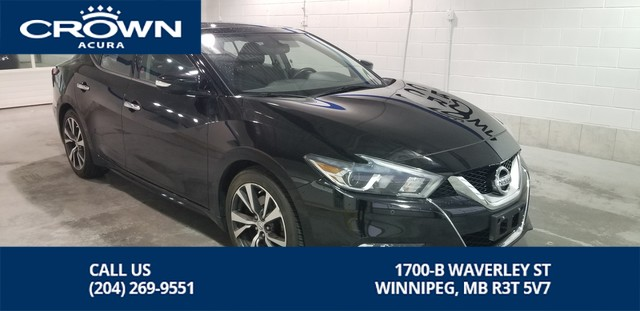 Pre-Owned 2016 Nissan Maxima SL **Tinted Windows ** Sunroof ** Navigation **