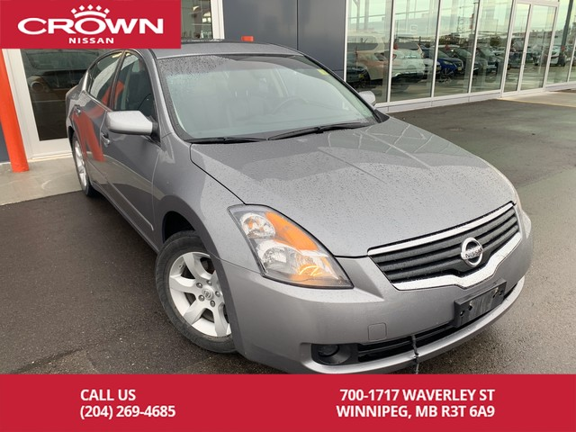 Pre-Owned 2008 Nissan Altima 2.5 SL *Leather/Heated Seats/Sunroof*