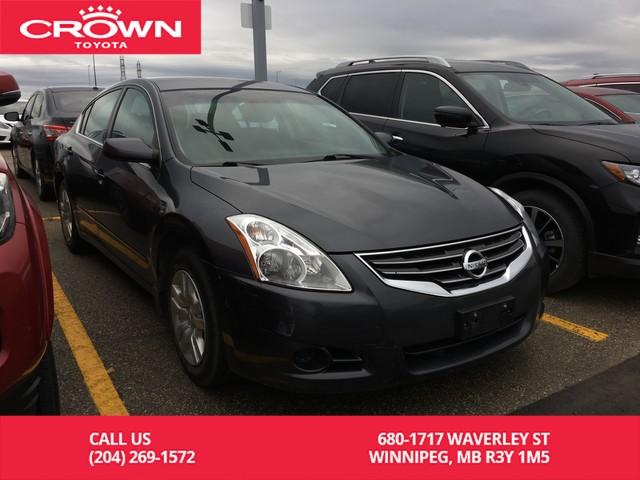 Pre-Owned 2011 Nissan Altima S / Crown Original / One Owner / Great Value