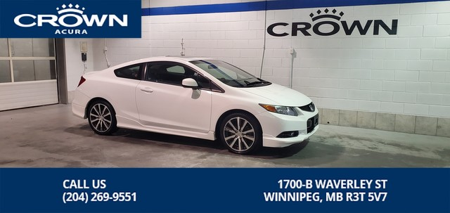 Pre-Owned 2012 Honda Civic Cpe SI **Factory HFP Package ** 6 speed manual transmission**