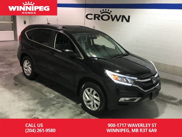 Pre-Owned 2015 Honda CR-V EX-L/Sunroof/Leather/Bluetooth/Heated seats