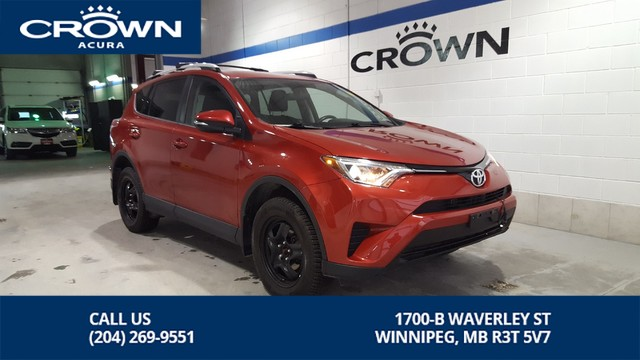 Pre-Owned 2016 Toyota RAV4 LE Upgrade AWD **Heated Seats** Local Manitoba Trade **