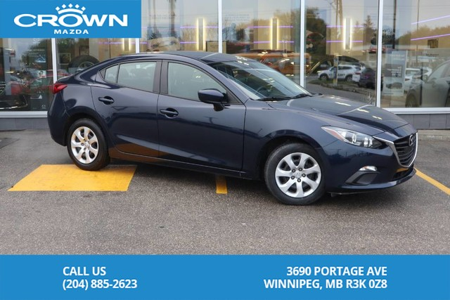Pre-Owned 2016 Mazda3 GX **Unlimited KM Warranty**