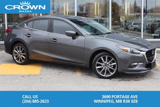 Pre-Owned 2018 Mazda3 GT **Bought Here/Serviced Here**