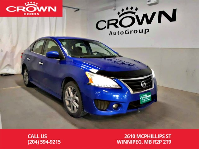 Pre-Owned 2014 Nissan Sentra SR/low kms/ push start button