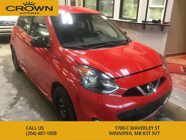 Pre-Owned 2015 Nissan Micra SR **Winter Tires** Backup Camera** Fully Loaded**