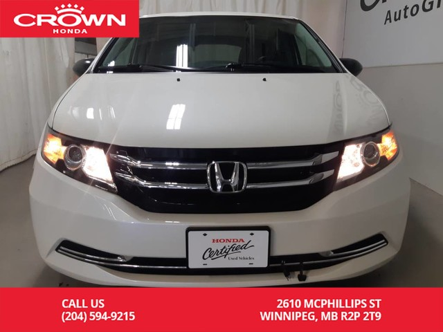 Certified Pre-Owned 2016 Honda Odyssey LX/accident free/very low kms/ back up cam/ remote start