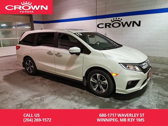 Pre-Owned 2019 Honda Odyssey EX-RES / Local / One Owner / Clean Carproof