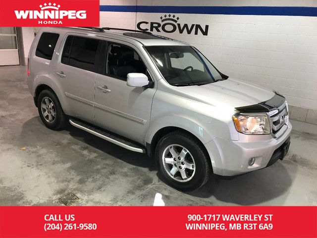 Pre-Owned 2009 Honda Pilot Touring/One owner/Fully loaded/Low Kilometres