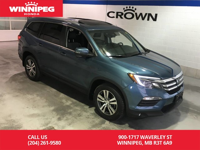 Pre-Owned 2016 Honda Pilot EX-L/Bluetooth/Heated seats/Sunroof/Leather/Power tailgate