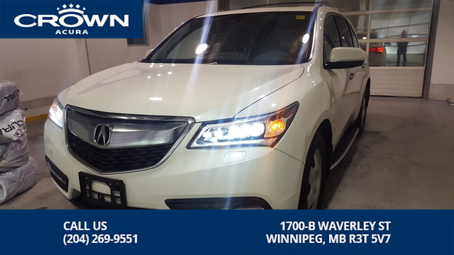 Certified Pre-Owned 2016 Acura MDX Tech SH-AWD ** Includes No Charge Extended Warranty** Comes With Winter Tires On Rims**