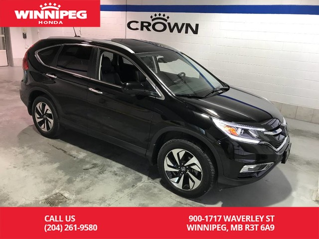 Certified Pre-Owned 2016 Honda CR-V Touring/Certified/Navigation/Heated seats/Powier tailgate