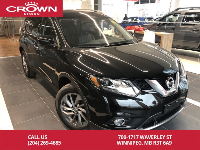 Pre-Owned 2016 Nissan Rogue SL AWD *Navi/Bluetooth/360 Backup Cam*