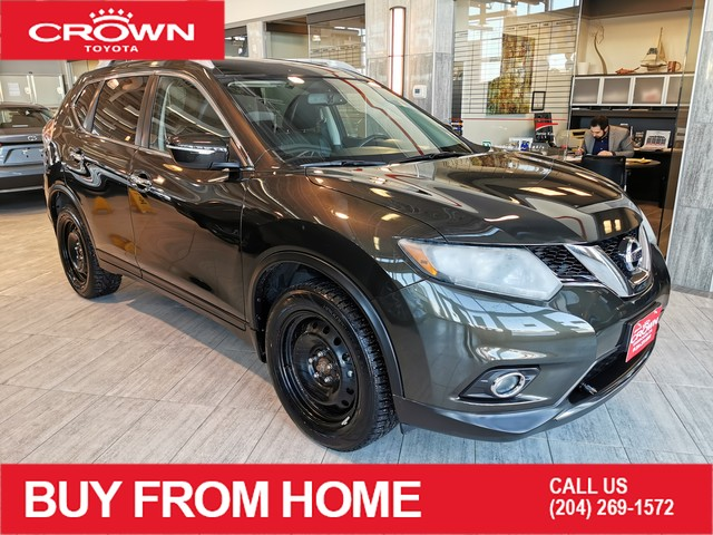 Pre-Owned 2014 Nissan Rogue SL AWD | Accident Free | Local Trade