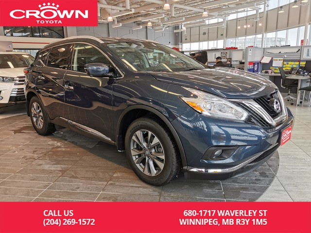 Pre-Owned 2017 Nissan Murano SL AWD / Crown Original / Lease Return / Low Kms