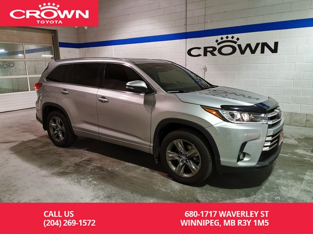 Certified Pre-Owned 2017 Toyota Highlander Limited AWD / Clean Carproof / Certified / Low Kms / Great Value