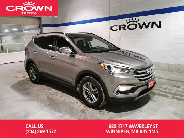 Pre-Owned 2017 Hyundai Santa Fe Sport SE 2.4L AWD / Accident Free / Leather / Great Value