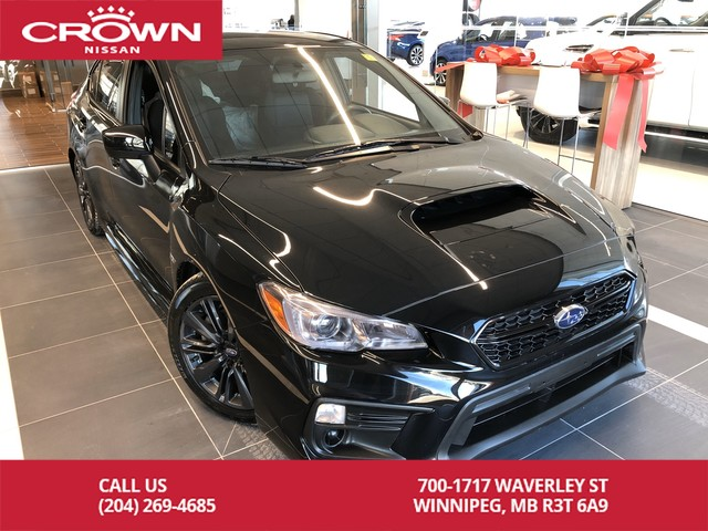 Pre-Owned 2019 Subaru WRX 6 Speed Manual *Winter Tires/Heated Seats/Accident Free*