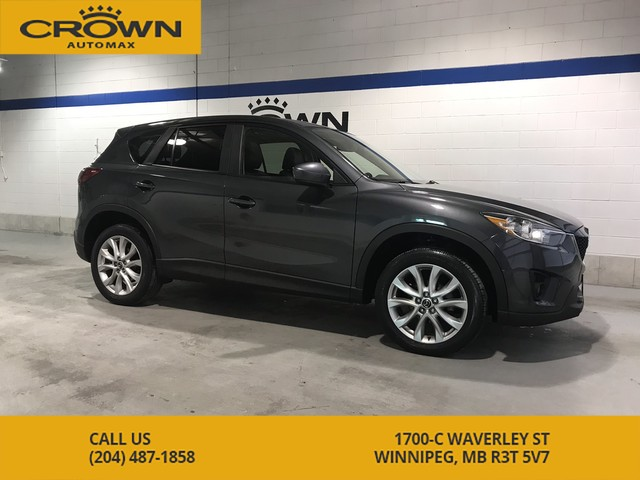 Pre-Owned 2015 Mazda CX-5 GT AWD **Navigation ** Blind Spot Assist** Sunroof**