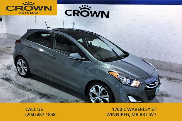 Pre-Owned 2013 Hyundai Elantra GT SE Tech Hatchback **Navigation ** Leather ** Panoramic Roof**