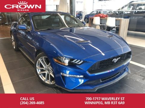 Pre-Owned 2018 Ford Mustang Premium 2.3L Turbo Ecoboost *Navi/Bluetooth/Backup Camera*