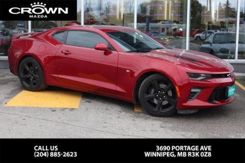 Pre-Owned 2017 Chevrolet Camaro SS **Accident Free/6.2L Engine**
