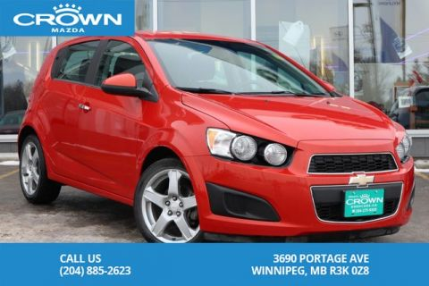 Pre-Owned 2013 Chevrolet Sonic LT Auto *Winter Tires on Rims *LOW KMS