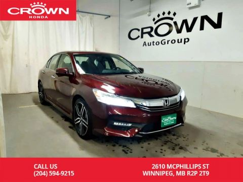 Certified Pre-Owned 2017 Honda Accord Sedan Touring/one owner/ low kms/ navigation/heated seats/BACK UP CAM/LANE ASSIST