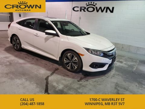 Pre-Owned 2016 Honda Civic Sedan EX-T **Local vehicle, No Accidents, One owner**