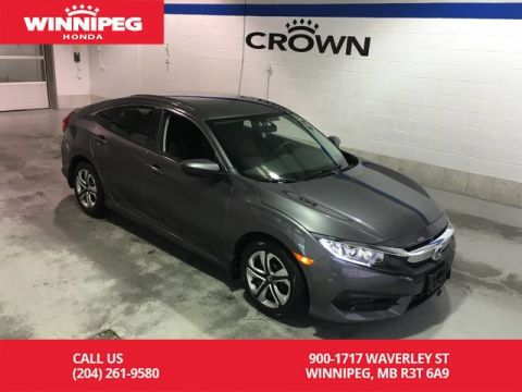 Certified Pre-Owned 2017 Honda Civic Sedan Certified/LX/Bluetooth/Heated seats/Rear view camera