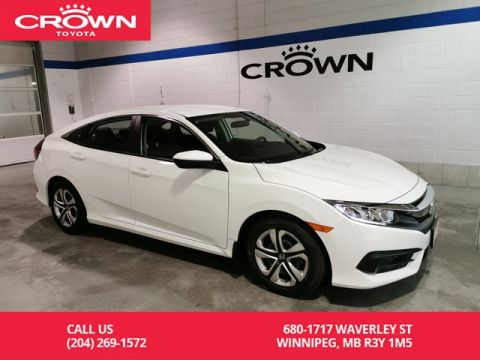 Pre-Owned 2016 Honda Civic Sedan LX / Local / One Owner / Apple Carplay / Android Auto / Great Value