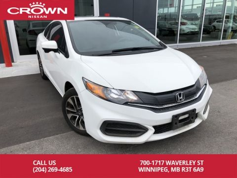 Pre-Owned 2014 Honda Civic Coupe COUPE EX 5-SPEED *Low KMs/Bluetooth/Backup Cam*