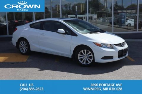 Pre-Owned 2012 Honda Civic Cpe EX **Bluetooth/Automatic Transmission**