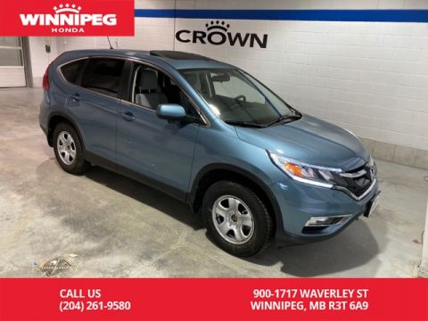 Certified Pre-Owned 2016 Honda CR-V Certified/EX/AWD/Sunroof/Heated seats/Rear view camera