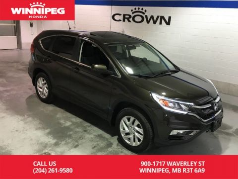 Certified Pre-Owned 2016 Honda CR-V Certified/Sunroof/Heated seats/Bluetooth/Push button start