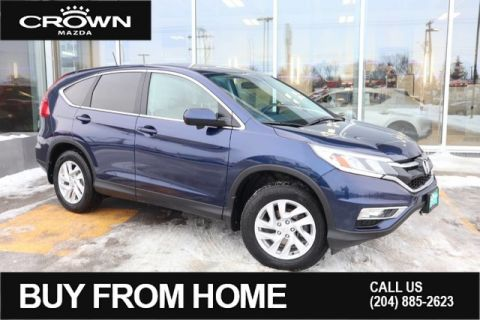 Pre-Owned 2015 Honda CR-V EX-L **One Owner/Local**