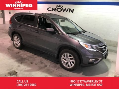 Pre-Owned 2016 Honda CR-V Certfied/EX-L/Bluetooth/Heated seats/Sunroof