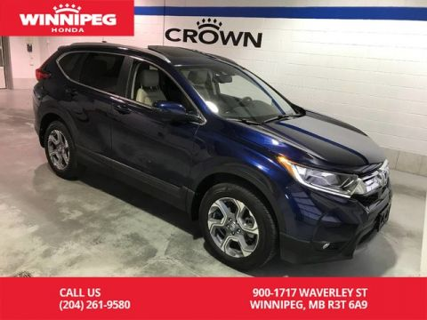 Certified Pre-Owned 2017 Honda CR-V AWD 5dr EX-L