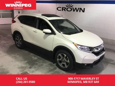 Certified Pre-Owned 2017 Honda CR-V Certified/Bluetooth/Heated steering wheel/Heated seats/Power tai