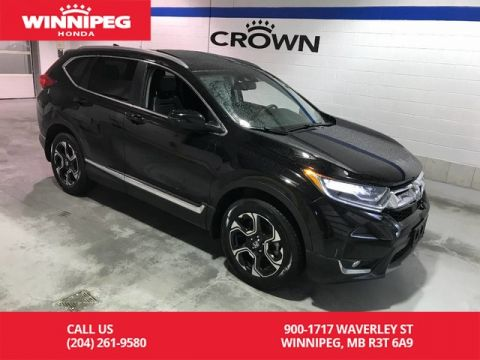 Certified Pre-Owned 2017 Honda CR-V Certified/Touring/Bluetooth/Heated steering wheel/Remote start
