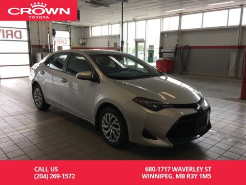 Pre-Owned 2018 Toyota Corolla LE / One Owner / Toyota Safety Sense / Great Value