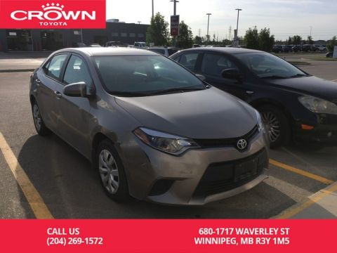 Pre-Owned 2014 Toyota Corolla LE / Crown Original / One Owner / Great Condition