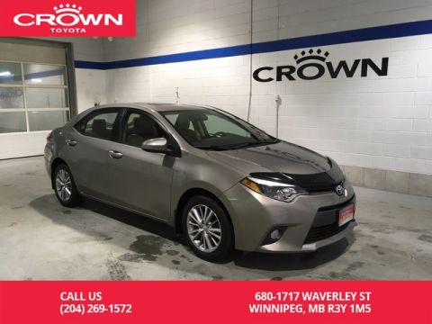 Certified Pre-Owned 2015 Toyota Corolla LE CVT Upgrade Pkg / One Owner / Local / Immaculate Condition / Great Value