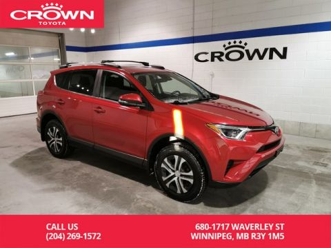 Certified Pre-Owned 2017 Toyota RAV4 LE AWD / Crown Original / Lease Return / Local