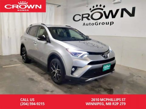 Pre-Owned 2016 Toyota RAV4 SE/AWD/ ONE OWNER/ LOW KMS/NAVIGATION/HEATED SEATS/HEATED STEERING WHEEL/SUNROOF/ BACK UP CAM/ECON MODE