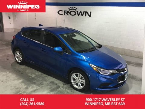 Pre-Owned 2018 Chevrolet Cruze LT w/1SD/Bluetooth/Heated seats/Rear view camera